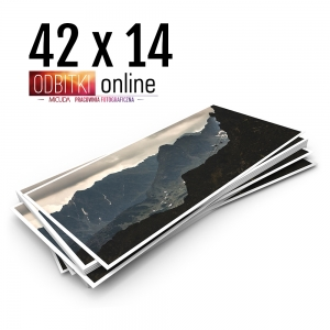 Odbitka 42x14 cm ILFORD Panorama Zdjęcie Panoramiczne 3