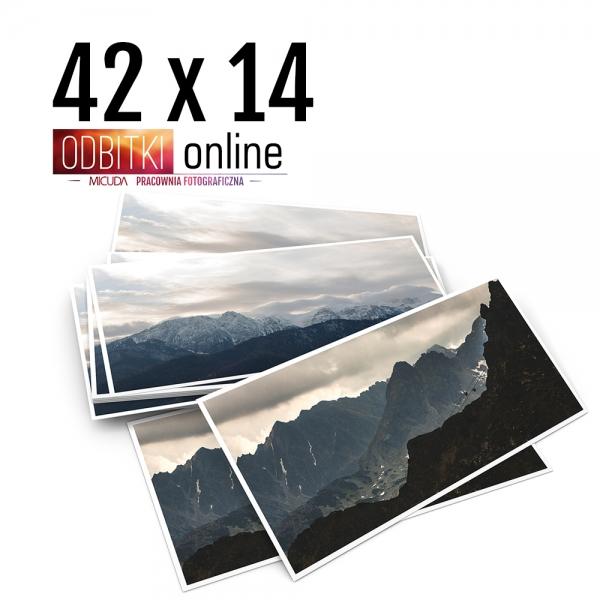 Odbitka 42x14 cm ILFORD Panorama Zdjęcie Panoramiczne 4