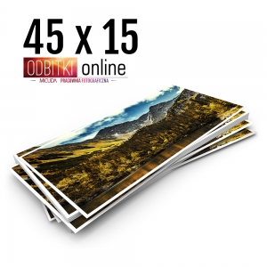 Odbitka 45x15 cm ILFORD Panorama Zdjęcie Panoramiczne 3