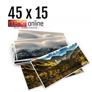 Odbitka 45x15 cm ILFORD Panorama Zdjęcie Panoramiczne 4