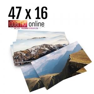 Odbitka 47x16 cm ILFORD Panorama Zdjęcie Panoramiczne 1