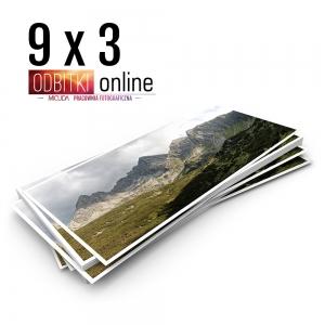 Odbitka 9x3 cm ILFORD Panorama Zdjęcie Panoramiczne 3