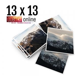 Odbitka Zdjęcia Kwadratowe 13x13 cm ILFORD Kraków 3