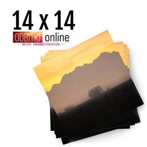 Odbitka Zdjęcia Kwadratowe 14x14 cm ILFORD Kraków 1