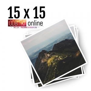 Odbitka Zdjęcia Kwadratowe 15x15 cm ILFORD Kraków 4