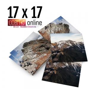 Odbitka Zdjęcia Kwadratowe 17x17 cm ILFORD Kraków 2