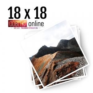 Odbitka Zdjęcia Kwadratowe 18x18 cm ILFORD Kraków 4