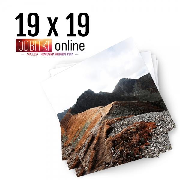 Odbitka Zdjęcia Kwadratowe 19x19 cm ILFORD Kraków 3