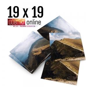 Odbitka Zdjęcia Kwadratowe 19x19 cm ILFORD Kraków 4