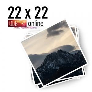 Odbitka Zdjęcia Kwadratowe 22x22 cm ILFORD Kraków 2