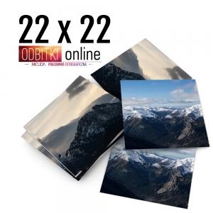 Odbitka Zdjęcia Kwadratowe 22x22 cm ILFORD Kraków 4