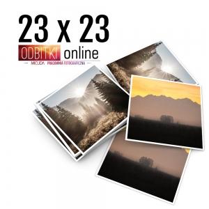Odbitka Zdjęcia Kwadratowe 23x23 cm ILFORD Kraków 1