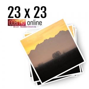 Odbitka Zdjęcia Kwadratowe 23x23 cm ILFORD Kraków 2
