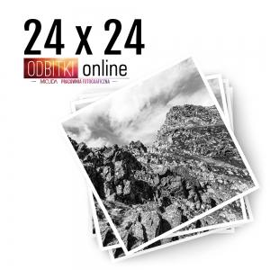 Odbitka Zdjęcia Kwadratowe 24x24 cm ILFORD Kraków 2