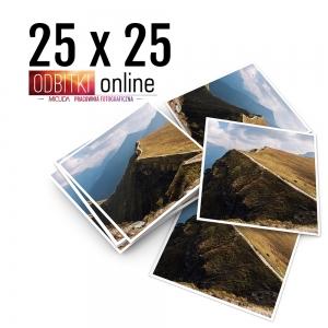 Odbitka Zdjęcia Kwadratowe 25x25 cm ILFORD Kraków 1
