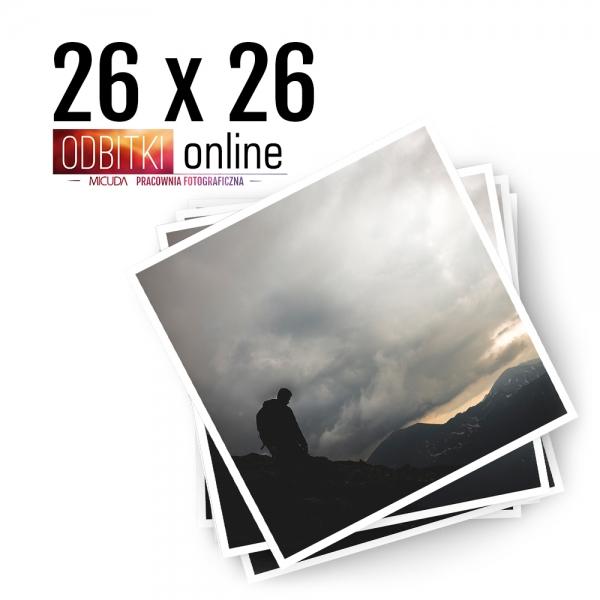 Odbitka Zdjęcia Kwadratowe 26x26 cm ILFORD Kraków 2