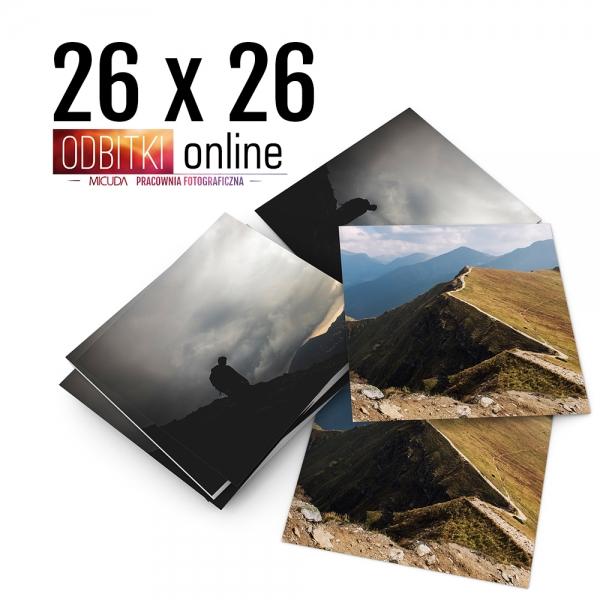 Odbitka Zdjęcia Kwadratowe 26x26 cm ILFORD Kraków 3