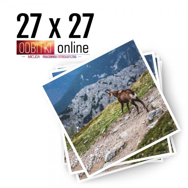Odbitka Zdjęcia Kwadratowe 27x27 cm ILFORD Kraków 1