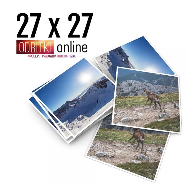 Odbitka Zdjęcia Kwadratowe 27x27 cm ILFORD Kraków 2