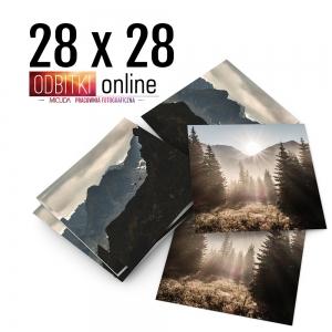 Odbitka Zdjęcia Kwadratowe 28x28 cm ILFORD Kraków 4