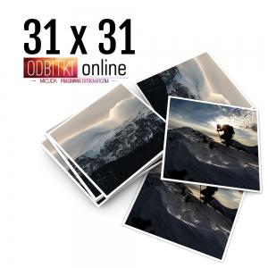Odbitka Zdjęcia Kwadratowe 31x31 cm ILFORD Kraków 1