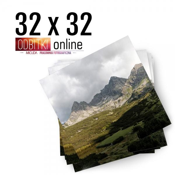 Odbitka Zdjęcia Kwadratowe 32x32 cm ILFORD Kraków 2