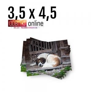 Odbitka Zdjęcia Mini Małe 35x45 mm ILFORD Pracownia Fotograficzna Micuda 1