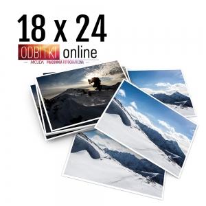 Odbitka 18x24 cm ILFORD Wywoływanie Zdjęć 2