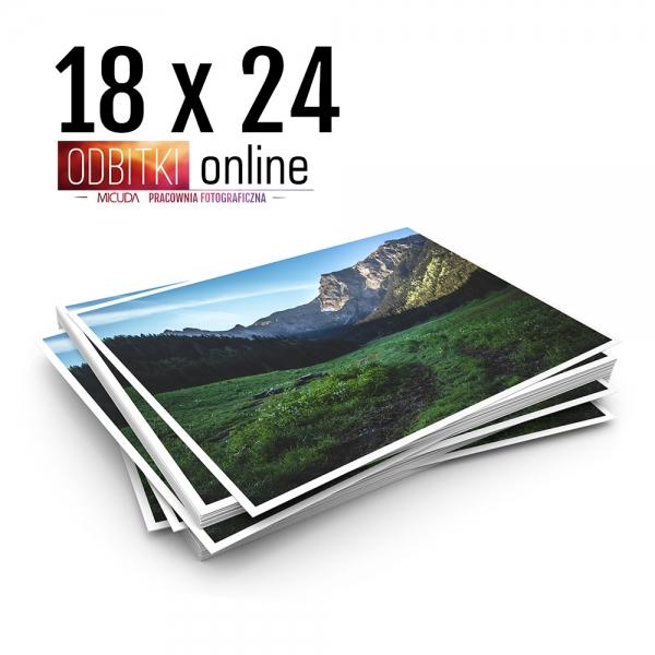 Odbitka 18x24 cm ILFORD Wywoływanie Zdjęć 3