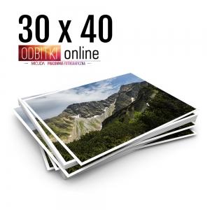 Odbitka 30x40 cm ILFORD Wywoływanie Zdjęć 1