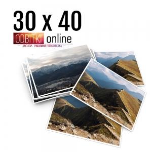 Odbitka 30x40 cm ILFORD Wywoływanie Zdjęć 2