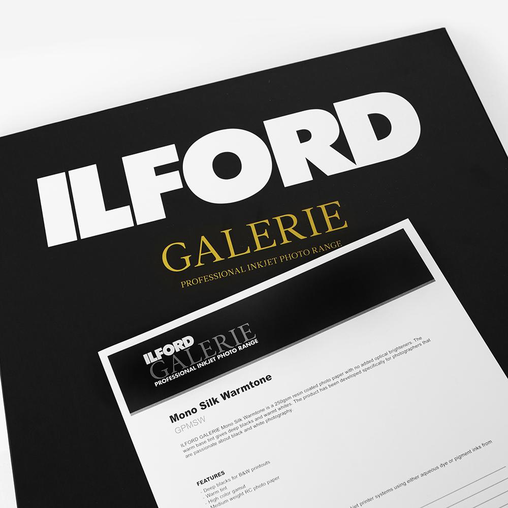 Ilford Galerie - Mono Silk Warmtone - GPMSW - Odbitki Micuda
