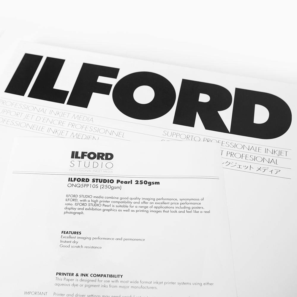 Ilford Studio - Pearl 250gsm - ONQ5PP10S - Odbitki Micuda